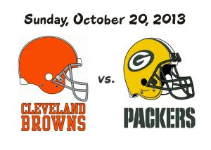 BROWNS VS PACKERS, OCTOBER 20TH