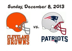 BROWNS VS. PATRIOTS – DEC. 8, 2013