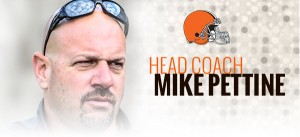 BROWNS HAVE A NEW HEAD COACH