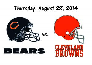 BEARS VS. BROWNS IN THURSDAY NIGHT FOOTBALL