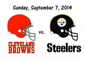 REGULAR SEASON IS HERE!!  BROWNS vs STEELERS
