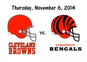 Browns vs Bengals – Thursday Night Football