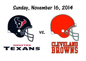 Texans vs Browns – November 16th