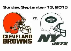 BROWNS VS. JETS – SUNDAY, SEPT. 13TH @1PM