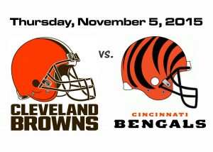 BROWNS VS. BENGALS ON THURSDAY NIGHT FOOTBALL
