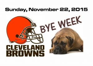BROWNS BYE WEEK – November 22nd