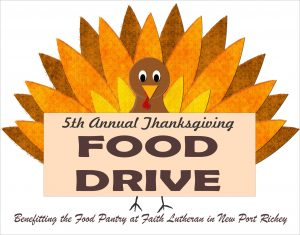 2018 FOOD DRIVE FLYER HEADER