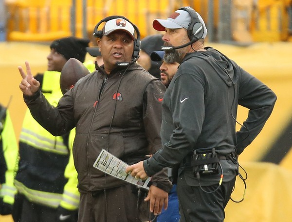 Browns fire Jackson & Haley; Name Williams as Interim HC
