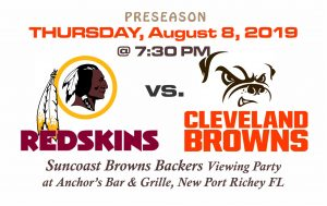 PRESEASON-RedskinsVsBrowns_080819