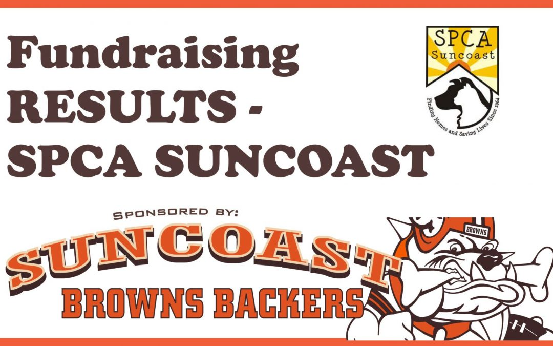 Fundraising RESULTS for the SPCA Suncoast Event