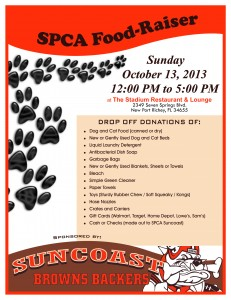 SPCA SUNCOAST FOOD-RAISER