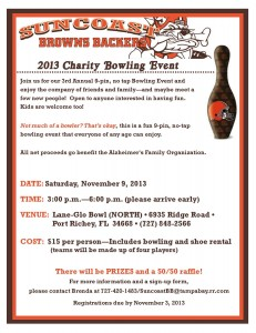 2013 Charity Bowling Event for AFO